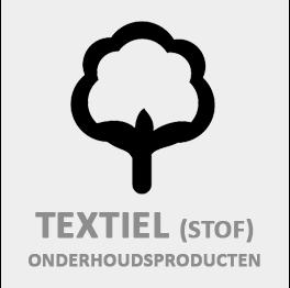 Onderhoudsproducten voor Textiel (stof)